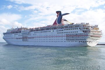 Carnival Sensation Sailing from Miami ©CruiseInd