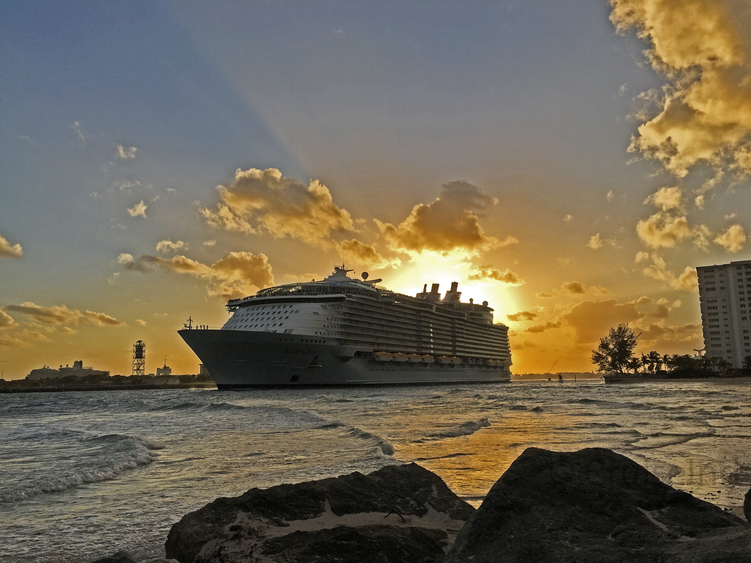 Fourth Oasis Class Ship Symphony Of The Seas Homeported