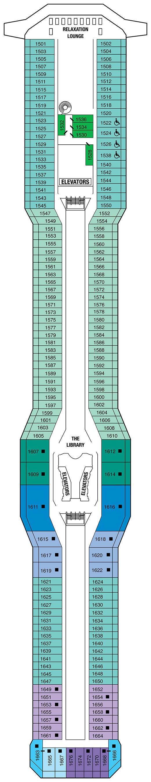 Cruise Ship Deck Plans | CruiseMapper