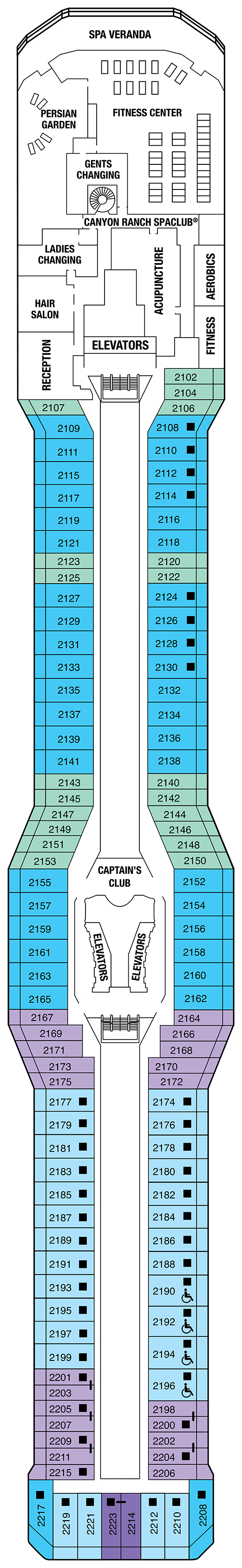 Cruise Ship Deck Plans