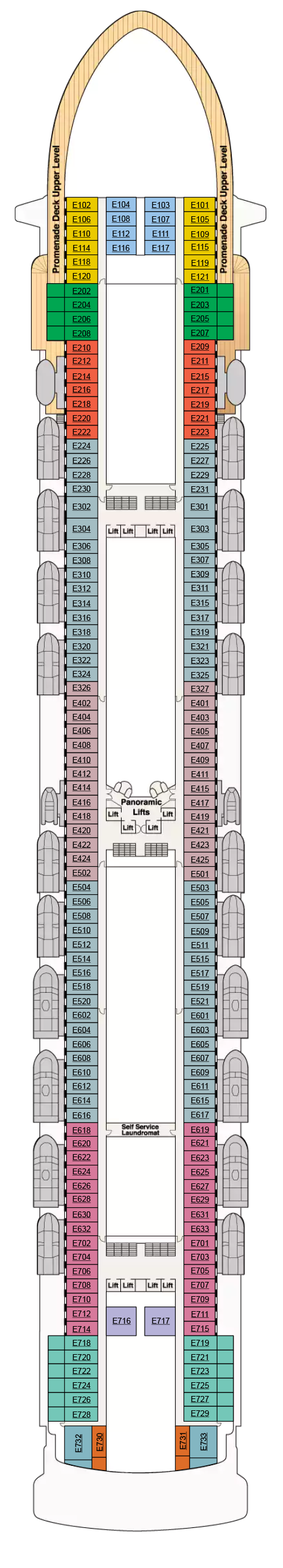 Grand Princess Deck Plans Cruiseind