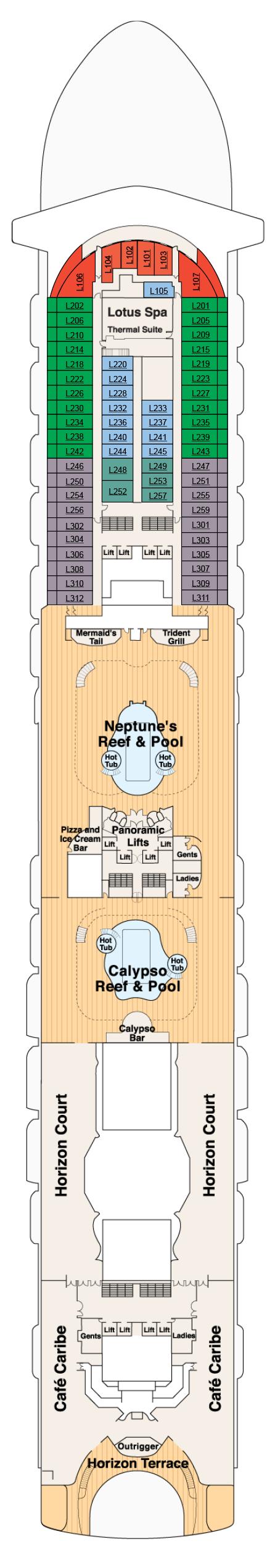 ruby princess deck plans pdf
