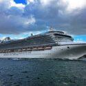 Caribbean Princess Departing Port Everglades. 11/5/2016 ©CruiseInd