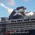 Celebrity logo on Celebrity Infinity ©CruiseInd