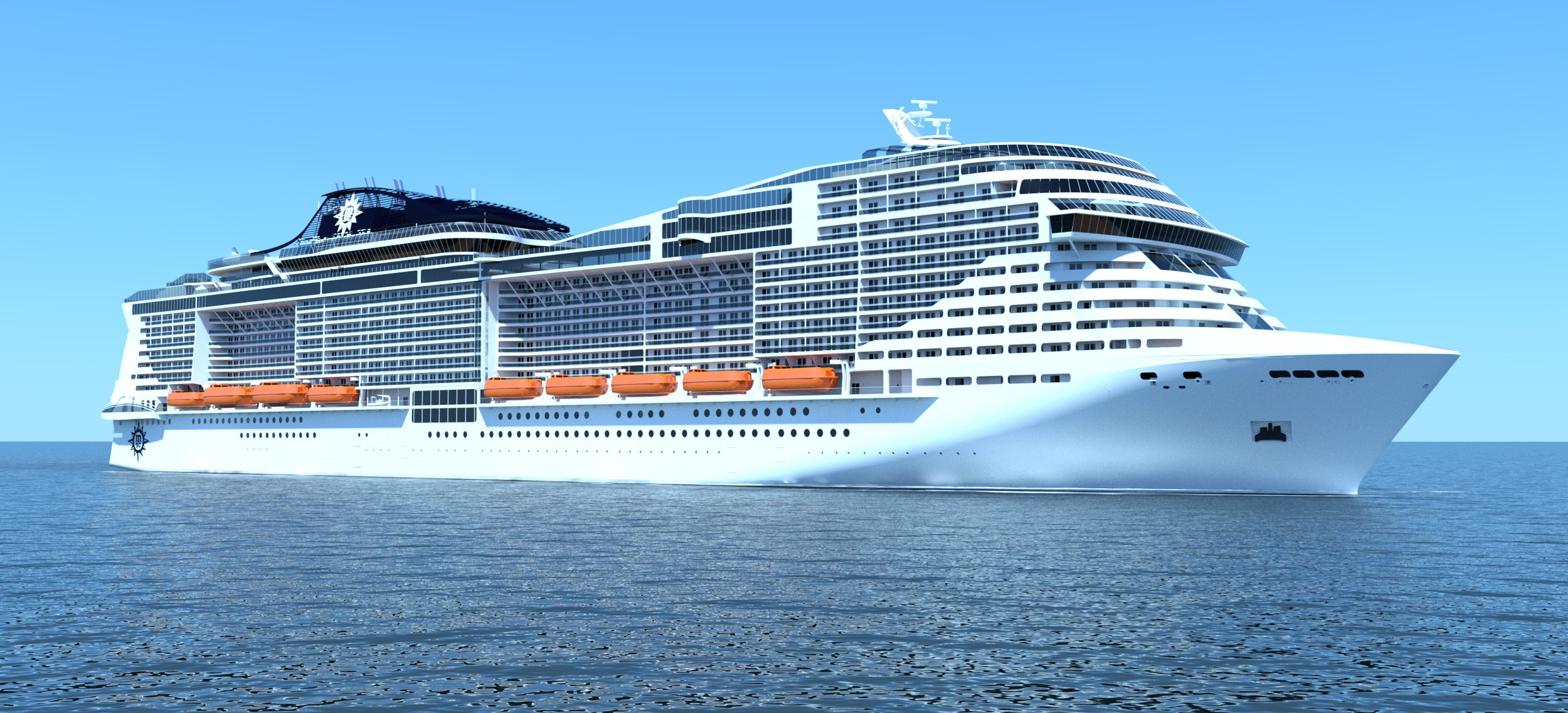Msc Celebrates Floatout Of Msc Meraviglia And Names New