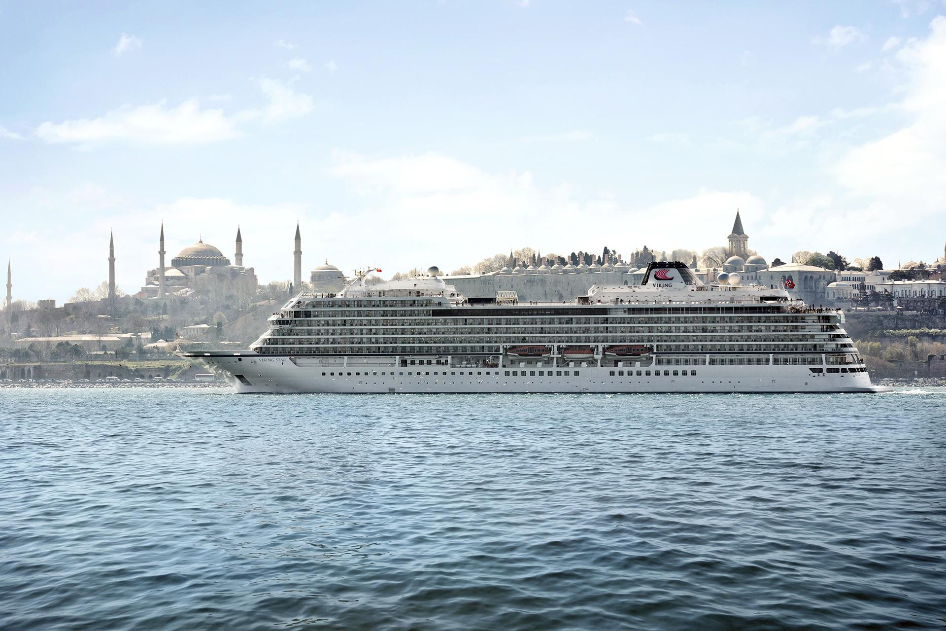 Viking Ocean Cruises Christens Viking Star Norway Cruiseind