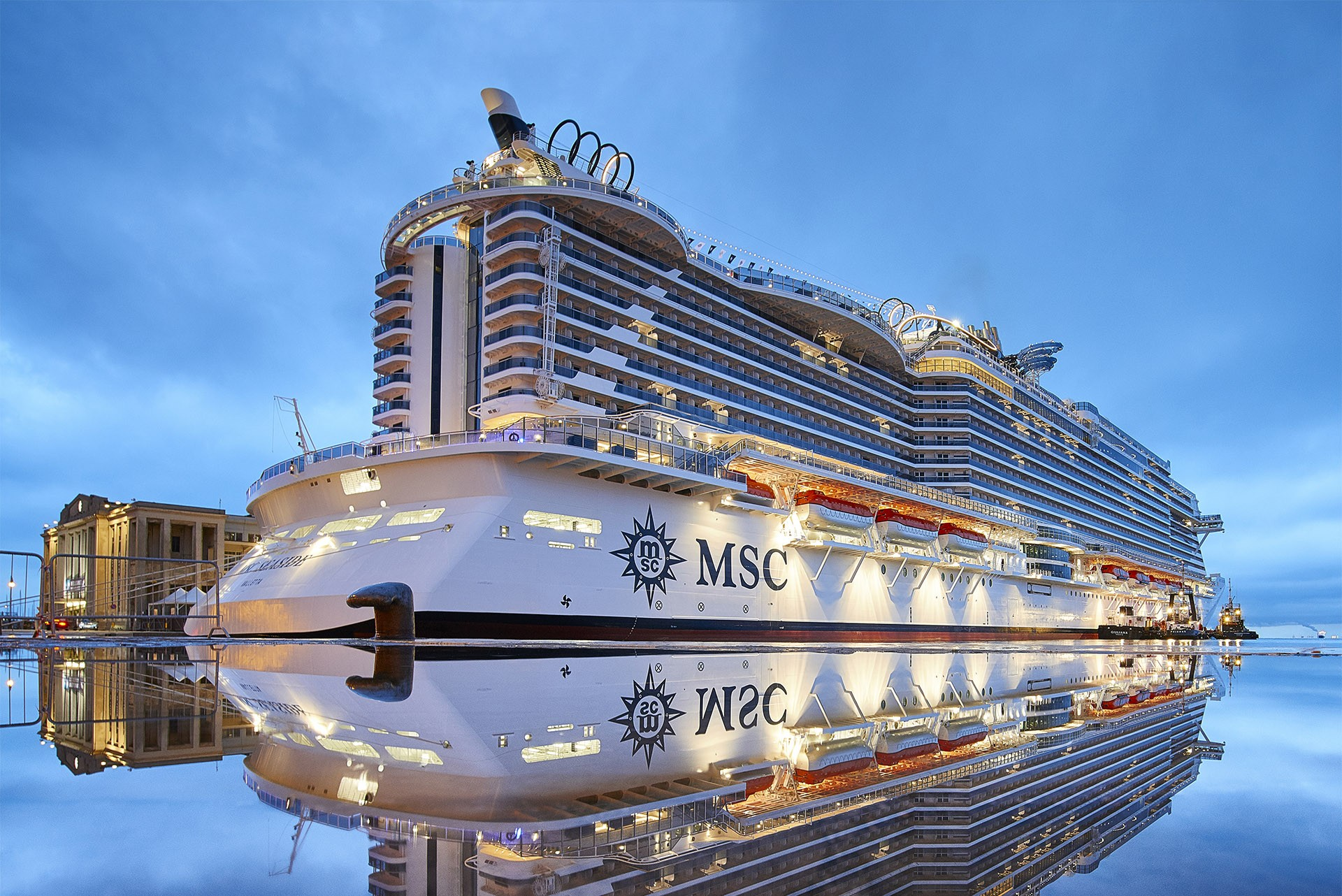 MSC Seaview Delivered   CruiseInd